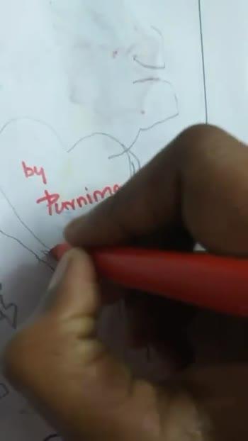 నేను గీసిన... drawing!!! - ShareChat