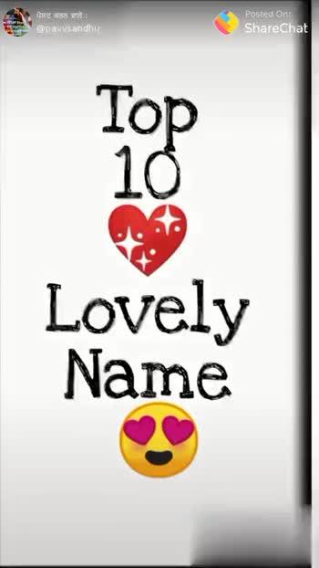 name letter for status - ShareChat