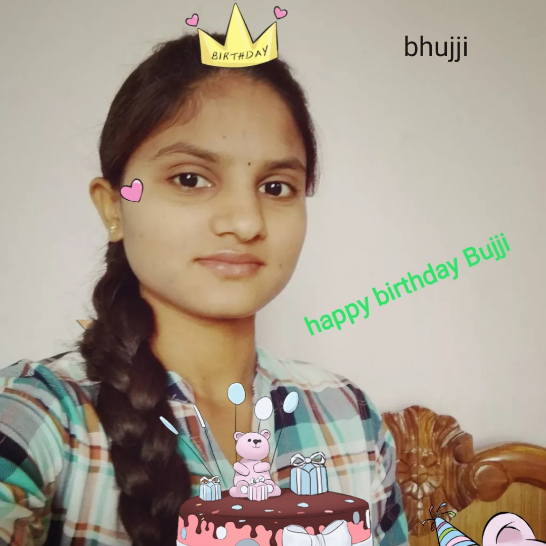 hai - bhujji BIRTHDAY happy birthday Bujji - ShareChat