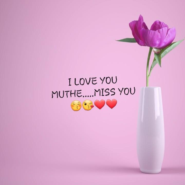 santhosham - I LOVE YOU MUTHE . . . . . MISS YOU - ShareChat