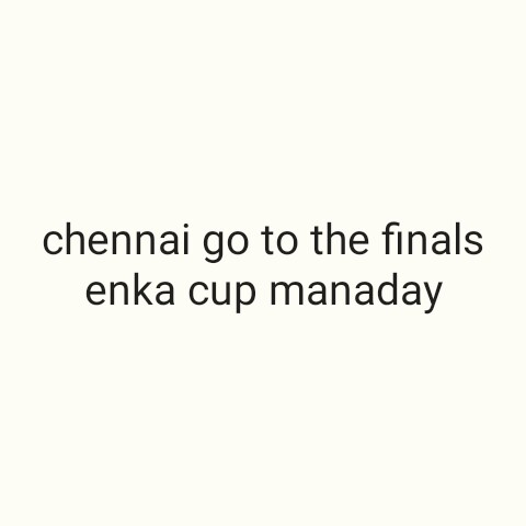 🏏CSK vs DC - chennai go to the finals enka cup manaday - ShareChat