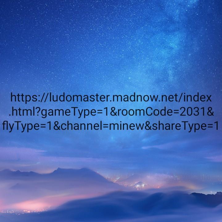 लूडो खेल - https : / / ludomaster . madnow . net / index . html ? game Type = 1 & roomCode = 2031 & flyType = 1 & channel = minew & shareType = 1 - ShareChat