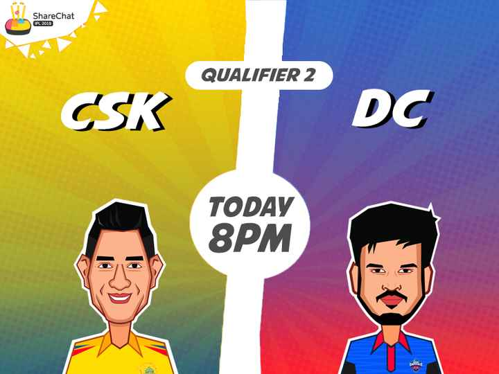 CSK vs DC - ShareChat