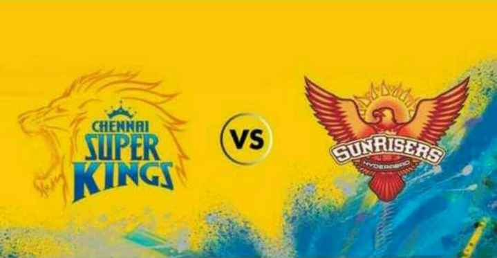 CSK vs SRH - CHENNAI VS GUNRISEAS SUPER KINGS - ShareChat