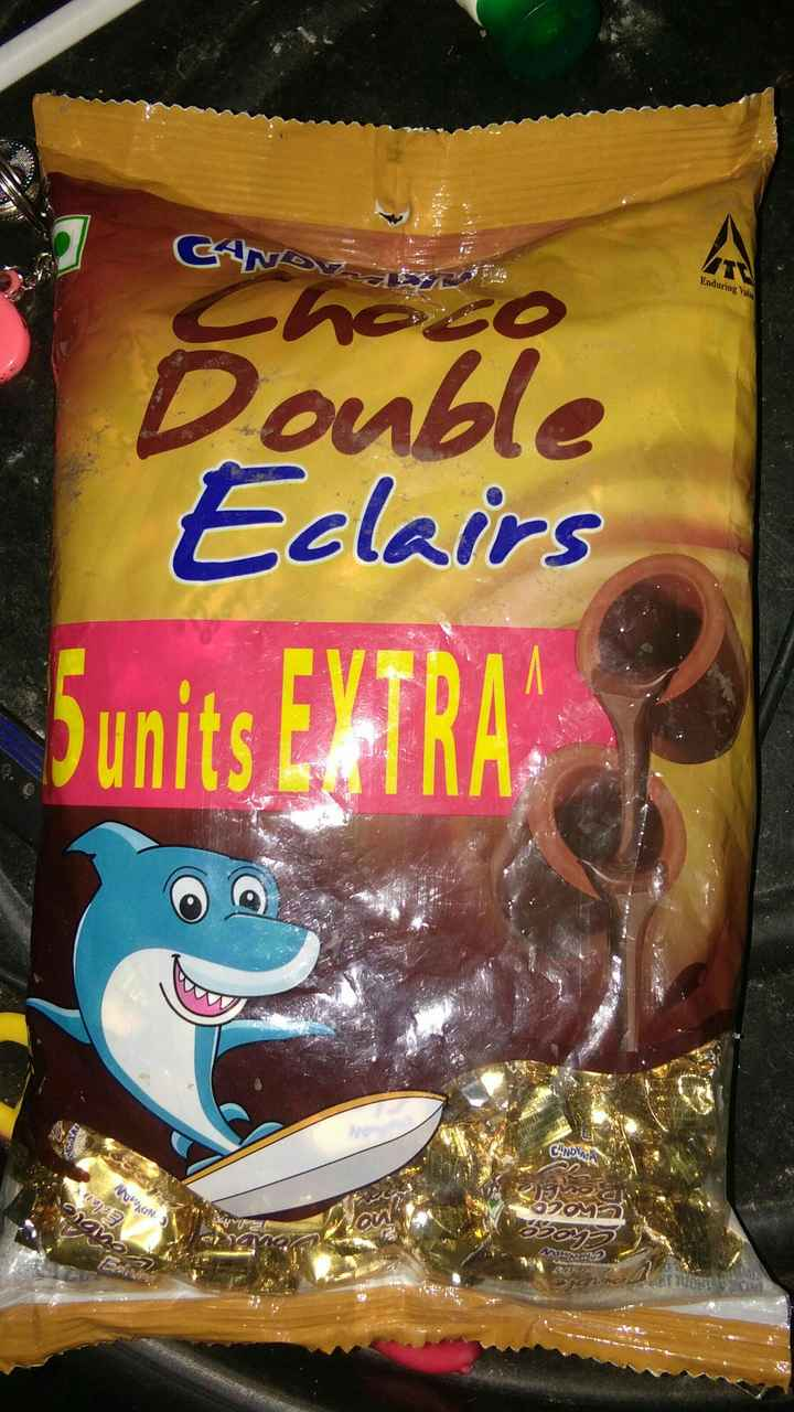Chocolates - CAN Enduring Valu Double Eclairs Sunits EXTRA Woh ) Edan amb 20 Wou . 820 CAMERA - ShareChat