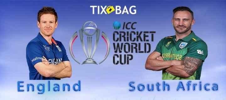 Eng vs SA - TIXOBAG WICC CRICKET WORLD CUP England South Africa - ShareChat