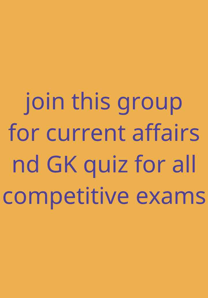 📰GK & करेंट अफेयर्स💡 - join this group for current affairs nd GK quiz for all competitive exams - ShareChat