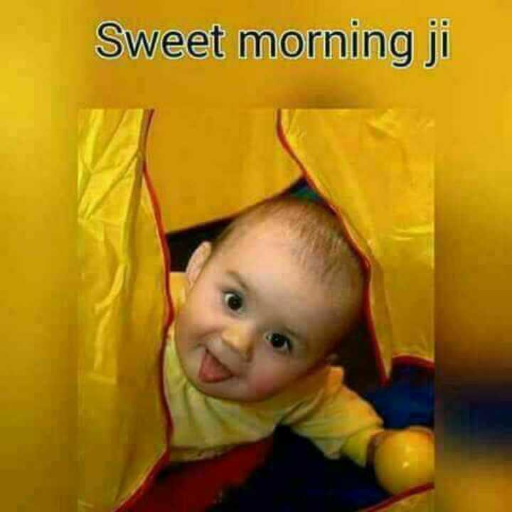 🌞 Good Morning🌞 - Sweet morning ji - ShareChat