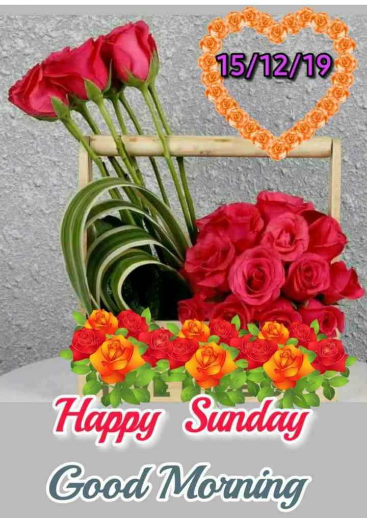 🌞 Good Morning🌞 - 15 / 12 / 19 Happy Sunday Good Morning - ShareChat