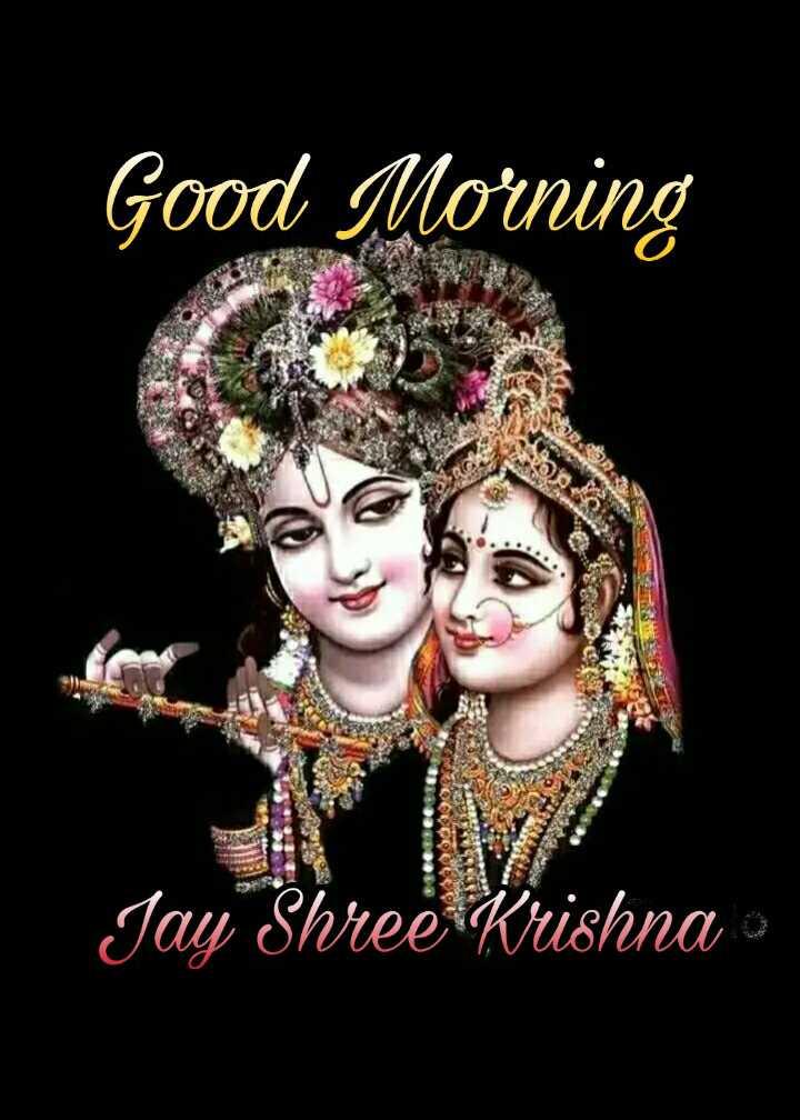 🌅 Good Morning - Good Morning Jay Shree Krishna - ShareChat