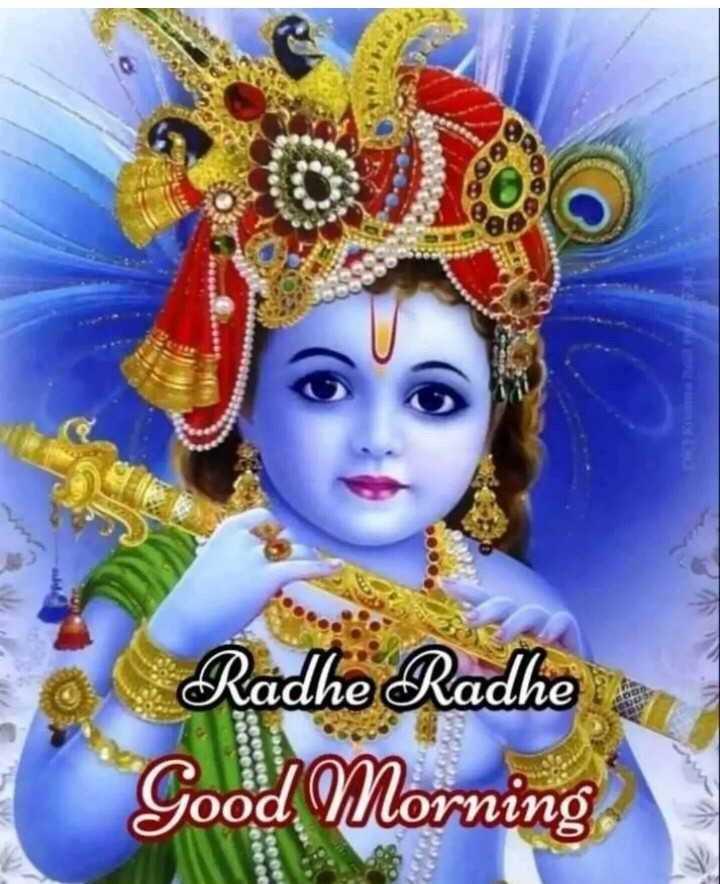 🌅 Good Morning - Radhe Radhe Good Morning - ShareChat