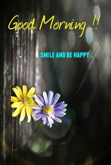 🌞Good Morning🌞 - Good Morning ! ! SMILE AND BE HAPPY . . - ShareChat