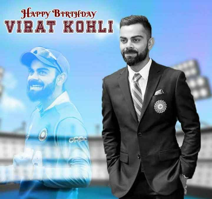 🏏 HBD: વિરાટ કોહલી - Happy BIRTHDAY VIRAT KOHLI ope - ShareChat