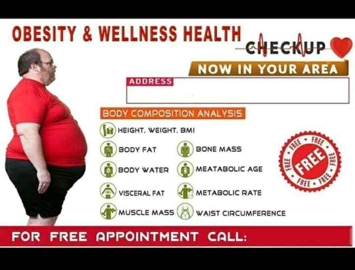 HERBALIFE NUTRITION AND WEIGHT MANAGEMENT - OBESITY & WELLNESS HEALTH CLIE NOW IN YOUR AREA ADDRESS BODY COMPOSITION ANALYSIS { H HEIGHT , WEIGHT , BMI FRES BODY FAT BONE MASS FREE FREE BODY WATER • FREE MEATABOLIC AGE ( FREE : FREE • FREE VISCERAL FAT METABOLIC RATE MUSCLE MASS WAIST CIRCUMFERENCE FOR FREE APPOINTMENT CALL : - ShareChat