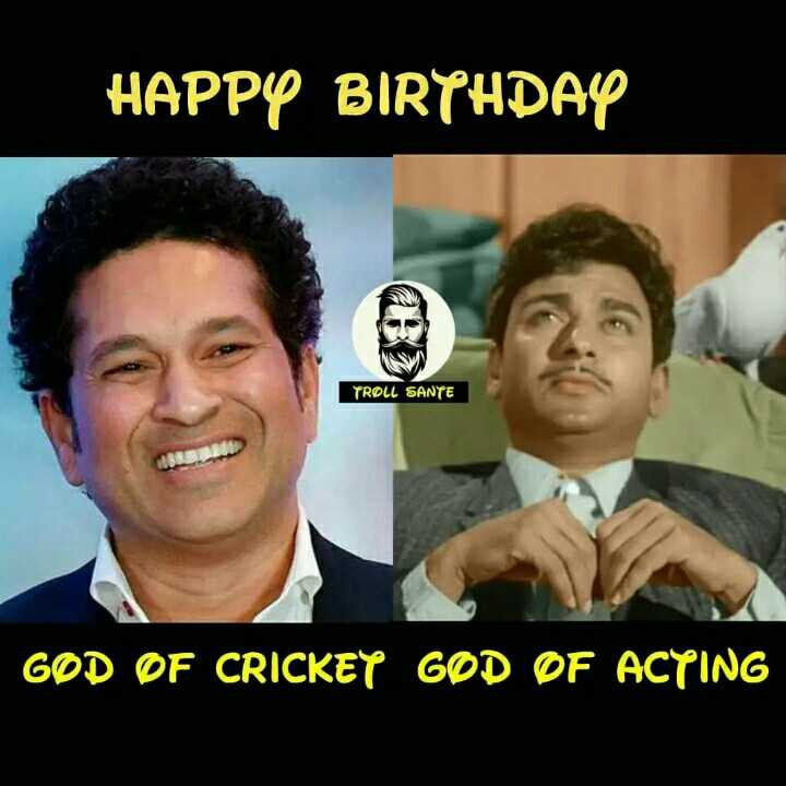 Happy birthday Big B - HAPPY BIRTHDAY TROLL SANTE GØD OF CRICKEY GOD OF ACYING - ShareChat