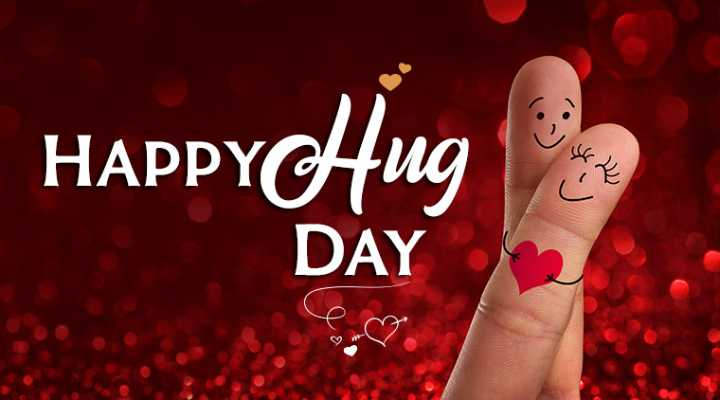Hug ডে 🤗 - Wh HAPPYCHug DAY - ShareChat