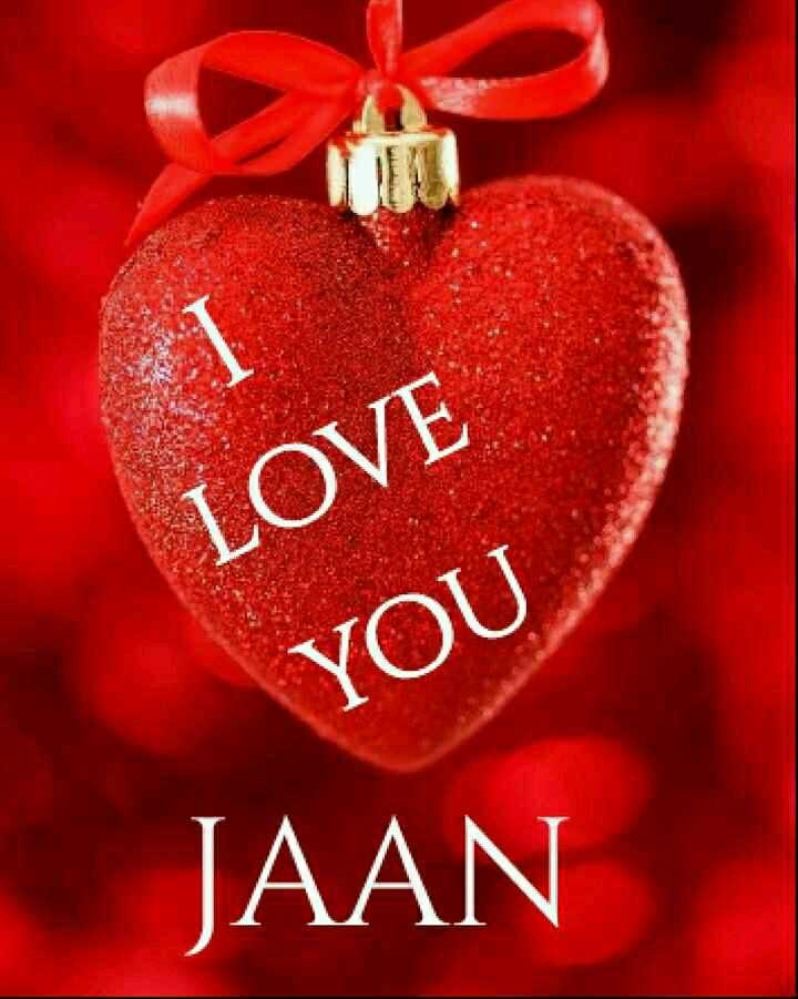 🌹 I Love You - LOVE YOU JAAN - ShareChat