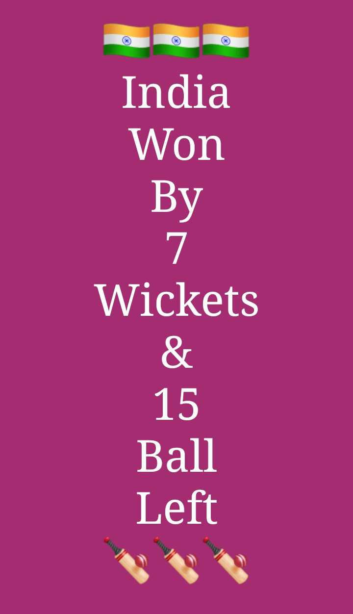 🔴IND vs SL live score - India Won By Wickets 15 Ball Left - ShareChat