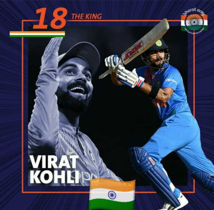 🏏 IND vs WI - cot ar bharat THE KING VIRAT КОНЦр - ShareChat
