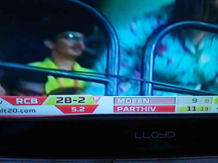 IPL മീംസ് - RCB olt20 . com 28 - 2 5 . 2 IMOEEN PARTHIV 9 B 11 13 - LLOYD - ShareChat
