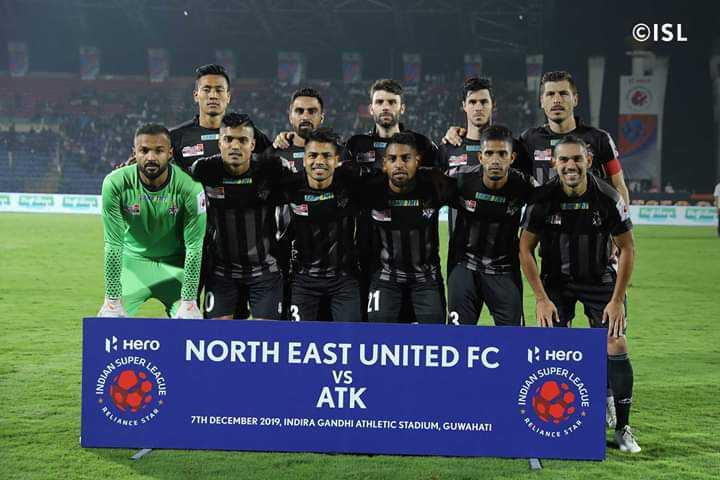 ISL⚽️ - ©ISL Hero NORTH EAST UNITED FC SUPER Hero NORTH EASE UNTEDEG Ő VS SUPER ATK 7TH DECEMBER 2019 , INDIRA GANDHI ATHLETIC STADIUM , GUWAHATI - ShareChat
