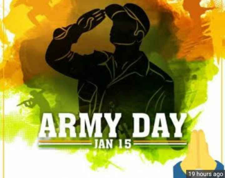 Indian army day - ARMY DAY - JAN 15 19 hours ago - ShareChat