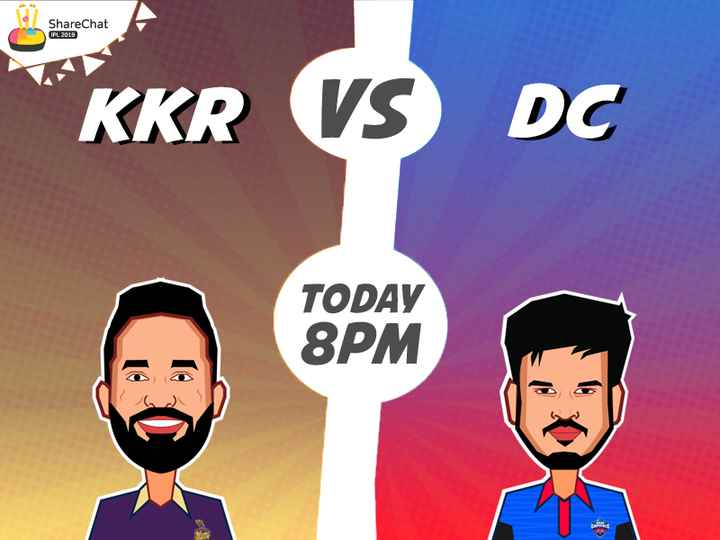 KKR vs DC - ShareChat