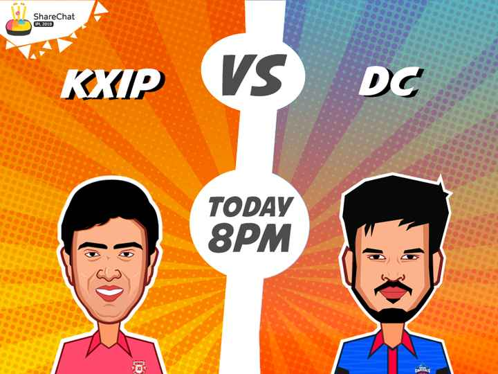 KXIP vs DC - ShareChat