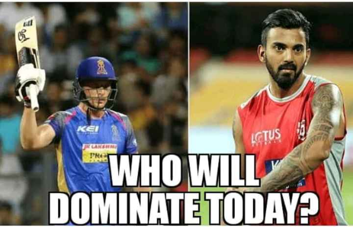 KXIP vs RR - KER LGTUS FK CAKSIN PRO WHO WILL DOMINATE TODAY ? - ShareChat