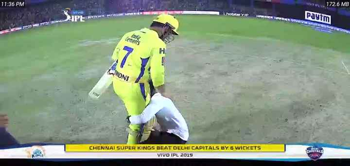 MS धोनी - 11 : 36 PM VID 172 . 6 MB hotstarVIP ARMEN GENRRIVOV Paytm BUTTO AN DOWNLOAD BHON CHENNAI SUPER KINGS BEAT DELHI CAPITALS BY G WICKETS VIVO IPL 2015 CAPITALS - ShareChat