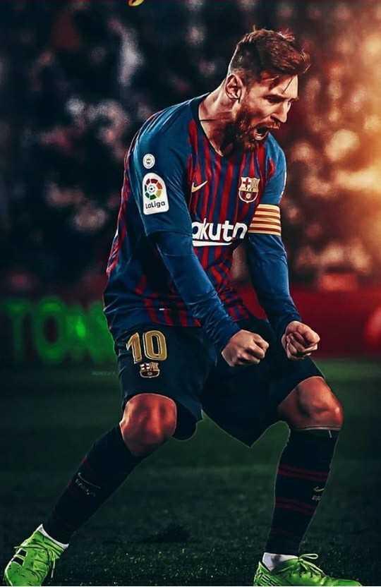😍 Messi Fans - talga kuta - ShareChat