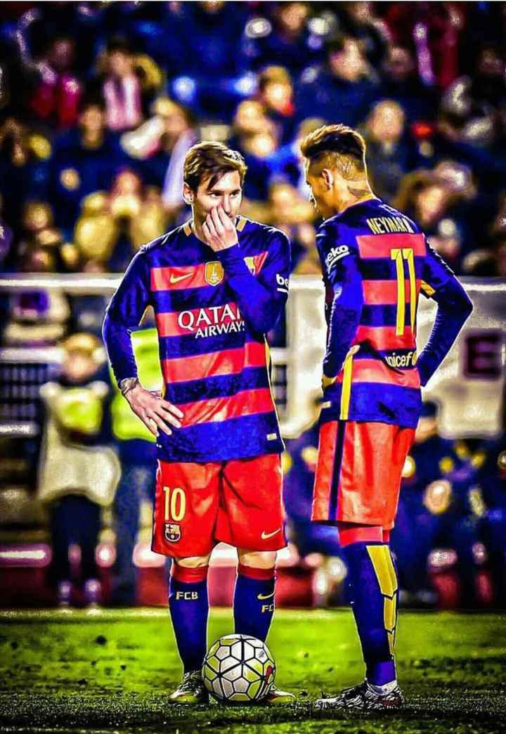 😍 Neymar Fans - ОАТА AIRWAYS FCB - ShareChat
