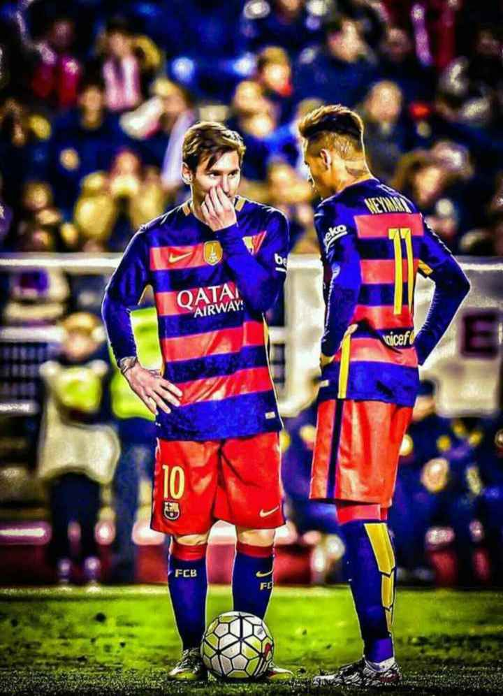 😍 Neymar Fans - ОАТА AIRWAY : FCB - ShareChat