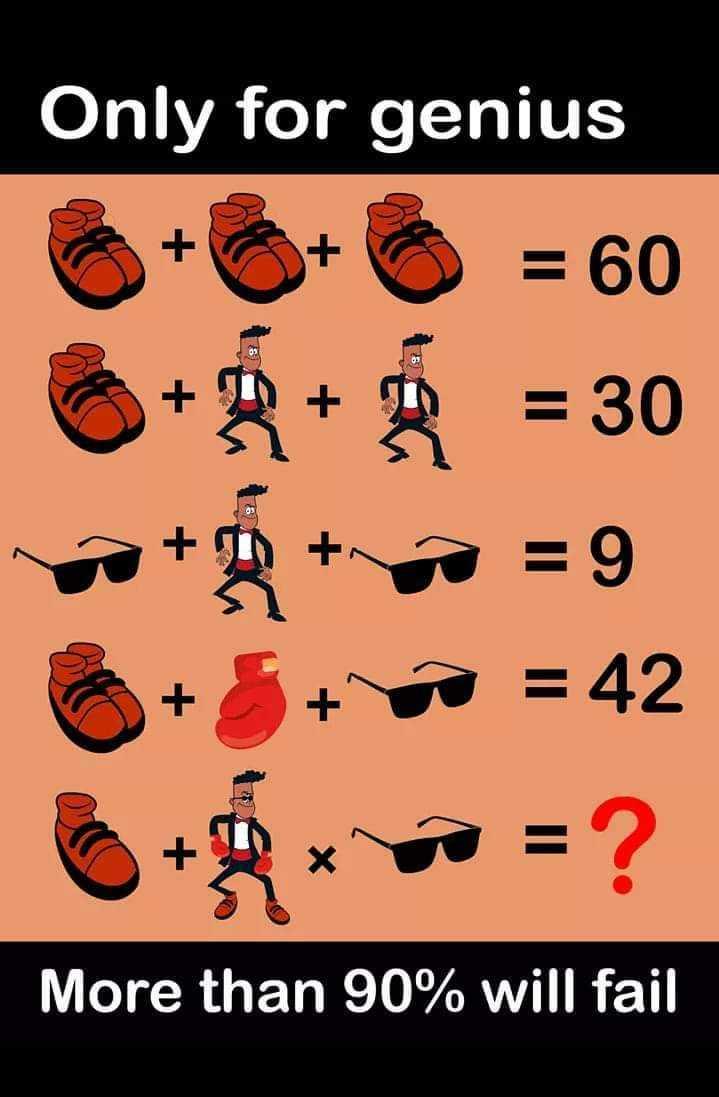 PSC പരീക്ഷകൾ മലയാളത്തിൽ - Only for genius 6 + 6 + 6 = 60 6 + * + = 30 II 11 & + * + * = 42 More than 90 % will fail - ShareChat