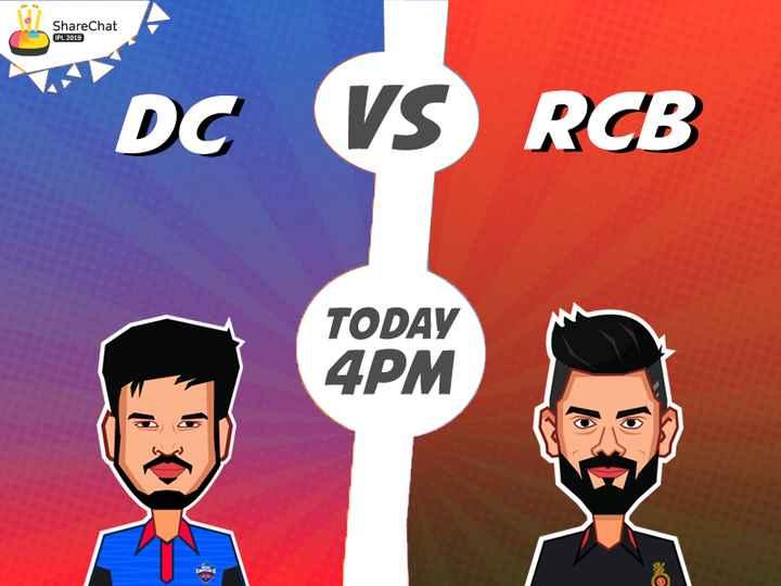 RCB vs DC - ShareChat