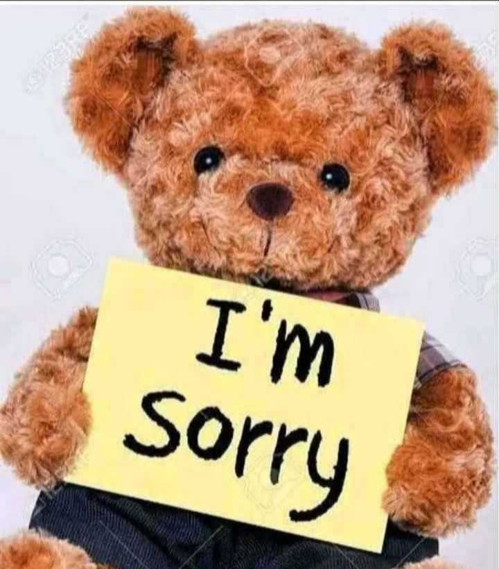 😢Sorry😔 - I ' m Sorry - ShareChat
