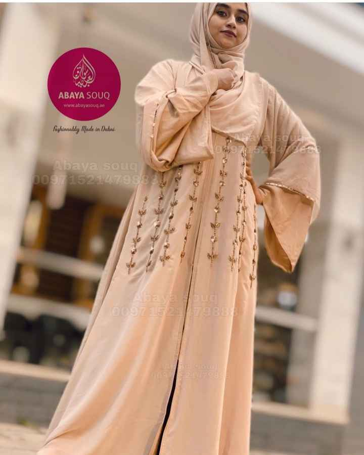 👰 Stitching and Design - ABAYA SOUQ www . abayasouq . ae fashionably Made in Dubai Ausa ya sous 52112 / ESE Abaya soug 00971521479883 . Abaya lug 009715279881 A a souc 00921279883 - ShareChat