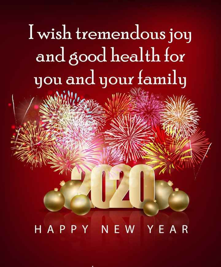 TestTag1 - I wish tremendous joy and good health for you and your family HAPPY NEW YEAR - ShareChat