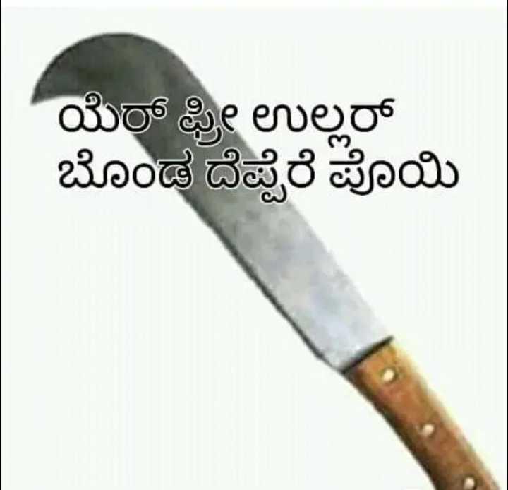 🌎 TuluNadu - ಯೆರ್ ಫ್ರೀ ಉಲ್ಲರ್ ಬೊಂಡ ದೆಪ್ಪೆರೆ ಪೊಯಿ - ShareChat
