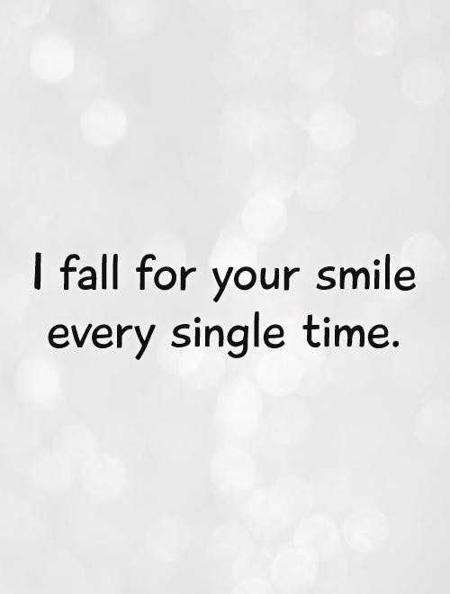 🌆 Typoഗ്രഫി - I fall for your smile every single time . - ShareChat