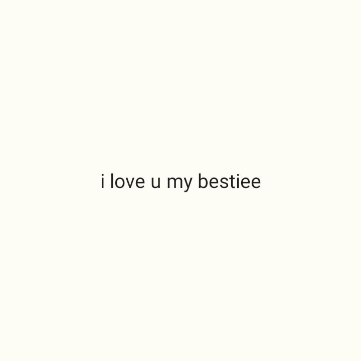 #💕💕bondhu - i love u my bestiee - ShareChat
