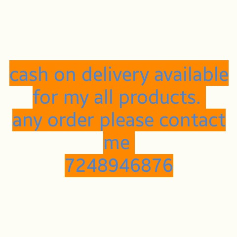 💭माझे विचार - cash on delivery available for my all products . any order please contact me 7248946870 - ShareChat