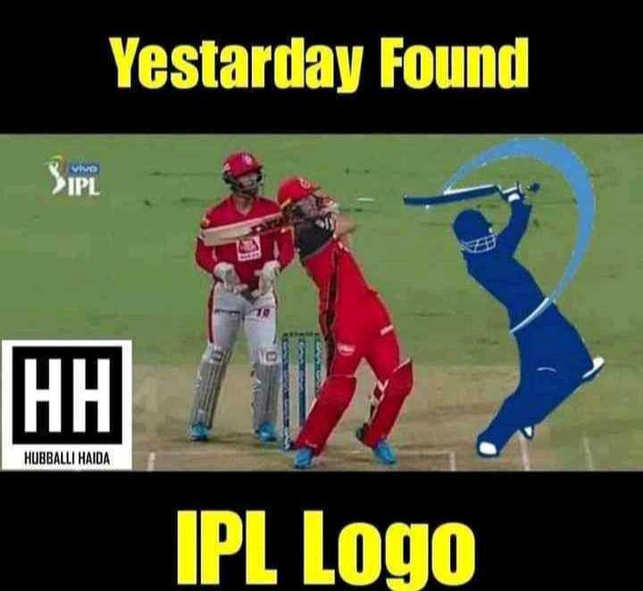 ab de villiers - Yestarday Found VIVO TPL HUBBALLI HAIDA IPL Logo - ShareChat