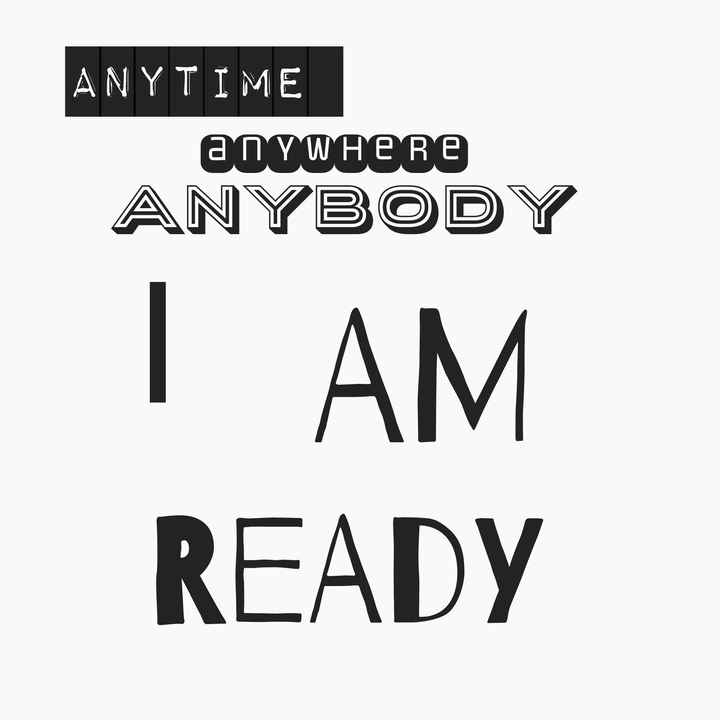 😠😠😠angry - ANYTIME anywhere ANYBODY   AM READY - ShareChat
