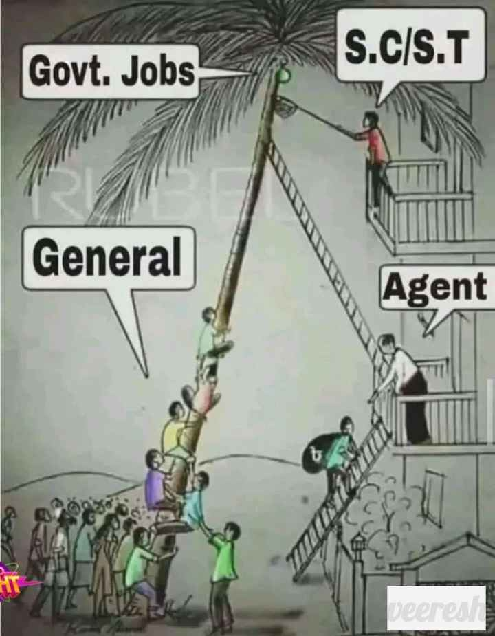 anonymous official - S . C / S . T Govt . Jobs General Agent eeres - ShareChat