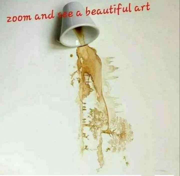 art image - zoom and see a beautiful art - ShareChat