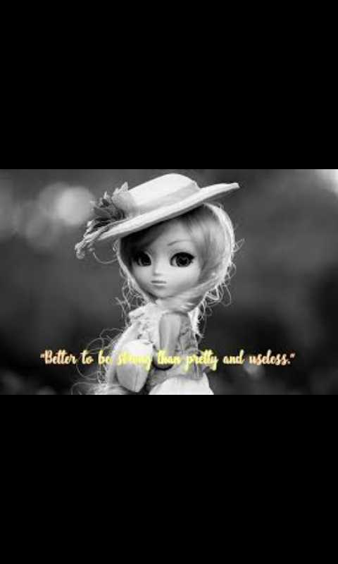 barbie doll - Better to be sin than prelly and useless . - ShareChat