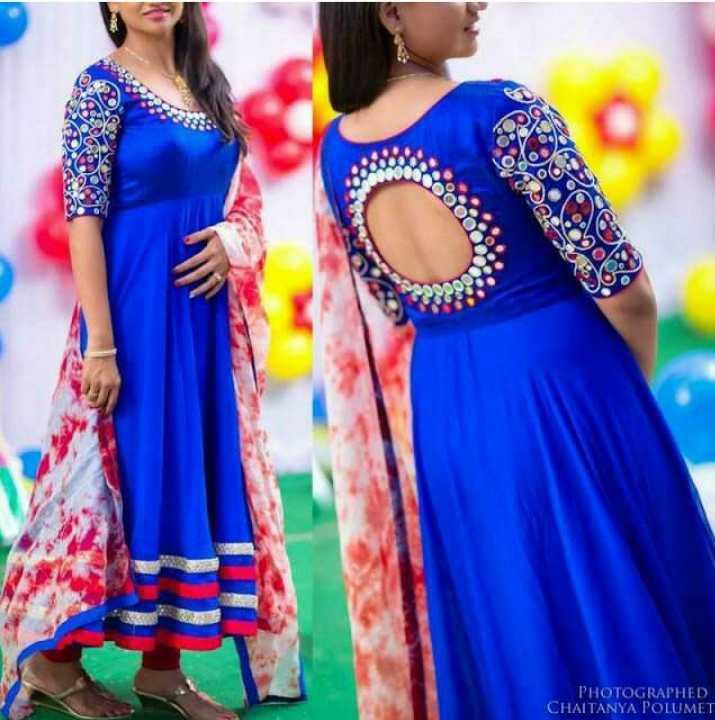 beautiful dress - PHOTOGRAPHED CHAITANYA POLUMET - ShareChat