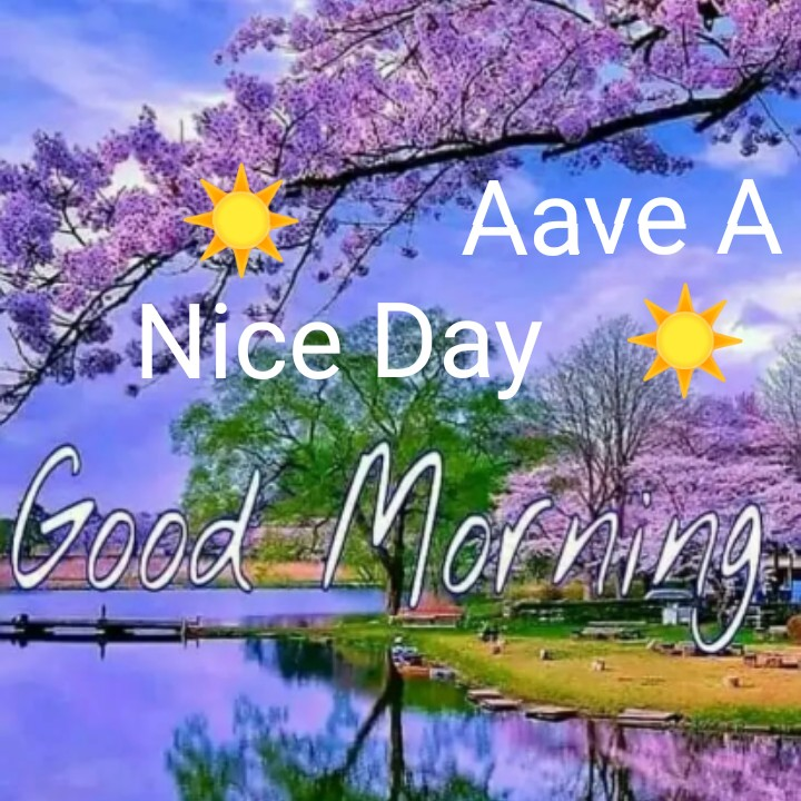 🌞 Good Morning🌞 - Aave A Nice Day - ShareChat