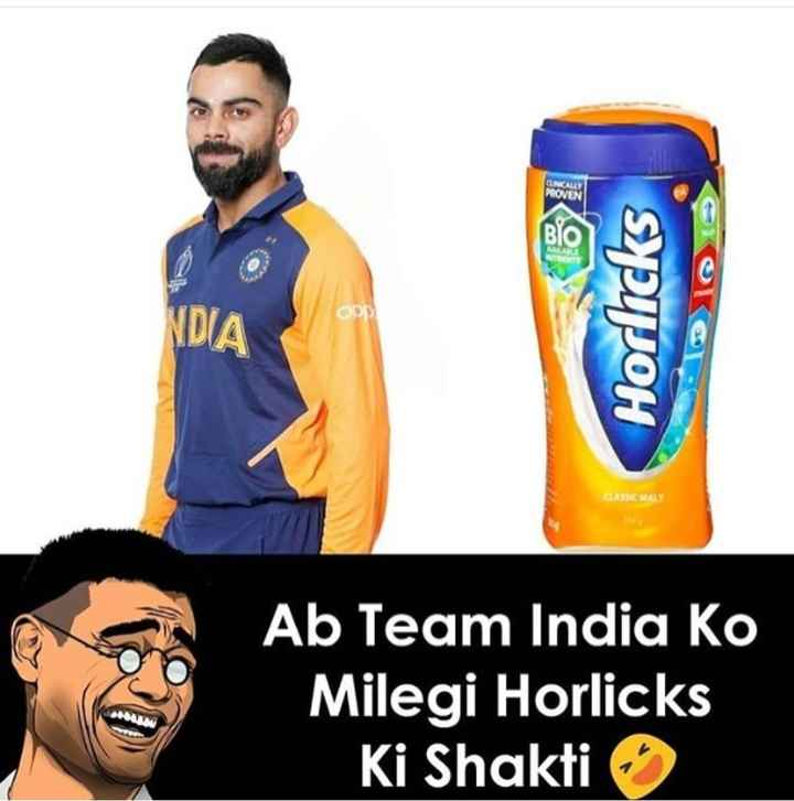 🧡 bleed orange (ਇੰਡੀਆ ਟੀਮ ਦੀ ਨਵੀਂ ਜਰਸੀ) - NDIA Horlicks TODIO CAMA Ab Team India Ko Milegi Horlicks Ki Shakti - ShareChat